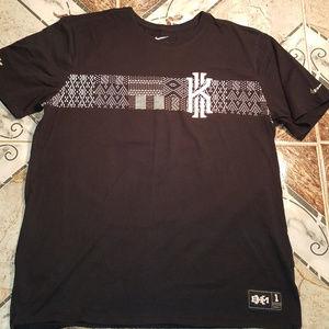 Nike Kyrie Irving BHM Black T-shirt Tee Size XL